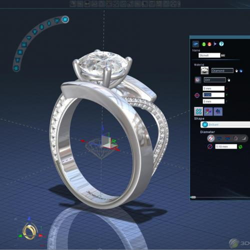 3Design 3D Jewelry CAD Software